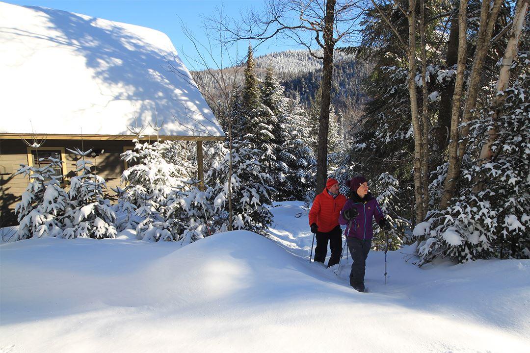 Raquette - Parc national du Mont-Tremblant (secteur
