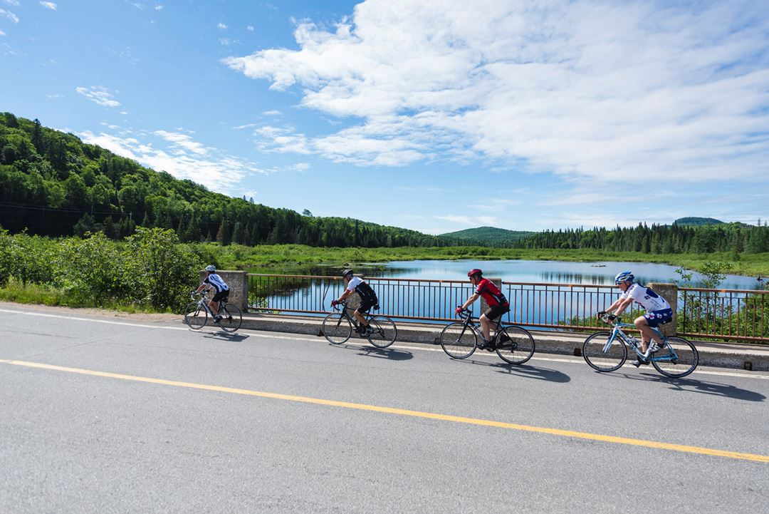 Bicycle in Saint-Donat