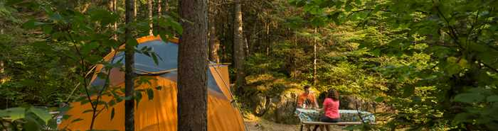 Camping Forêt Ouareau