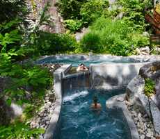 Nordic baths at La Source
