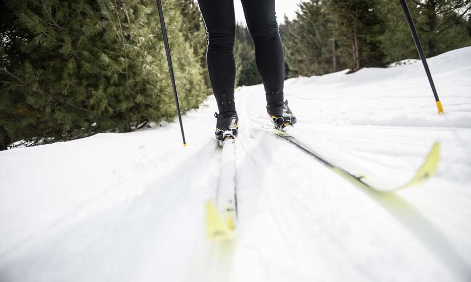 Cross country skiing tourisme lanaudi re - Montagne coupee ski de fond ...