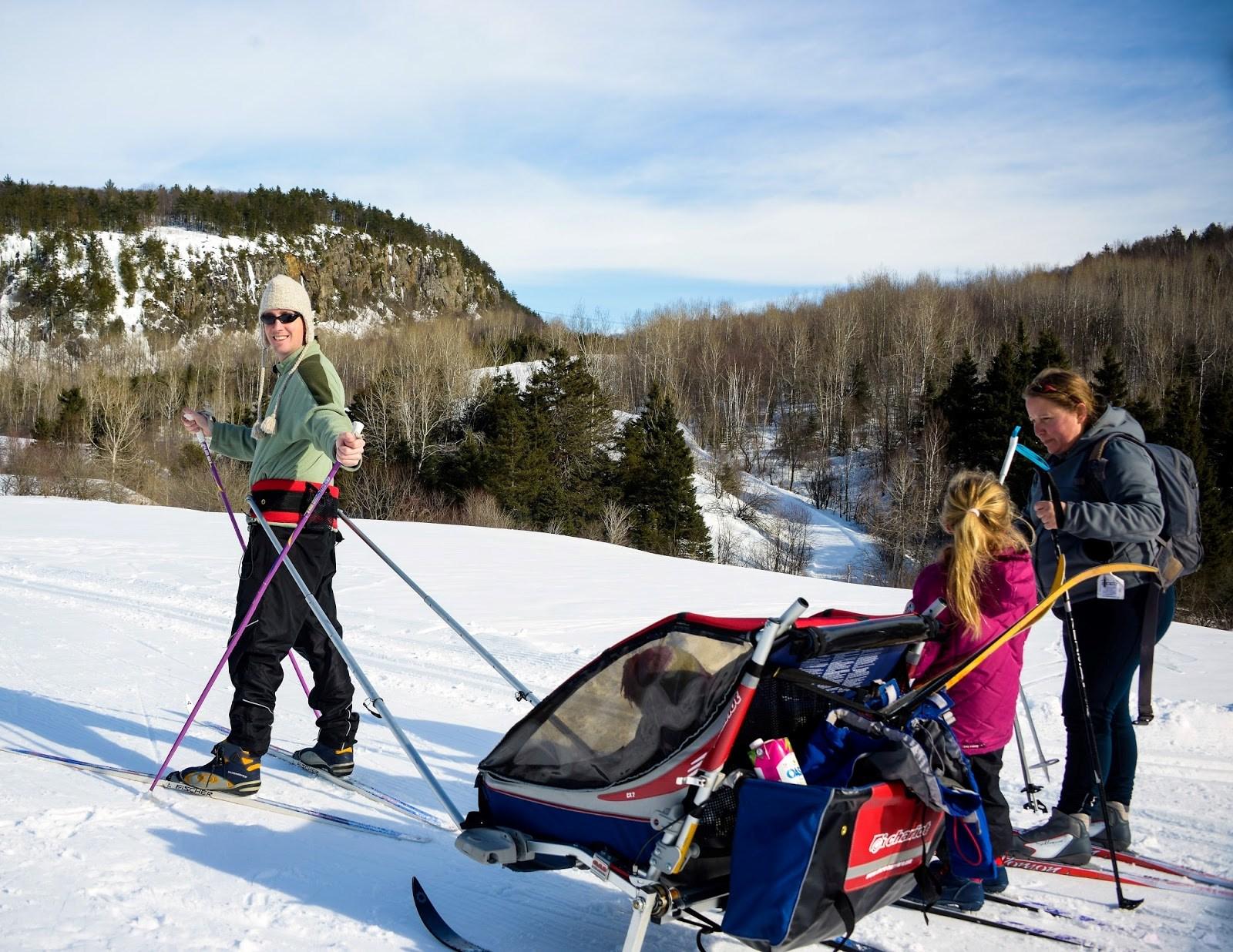Le paradis du ski de fond est saint jean de matha - Montagne coupee ski de fond ...