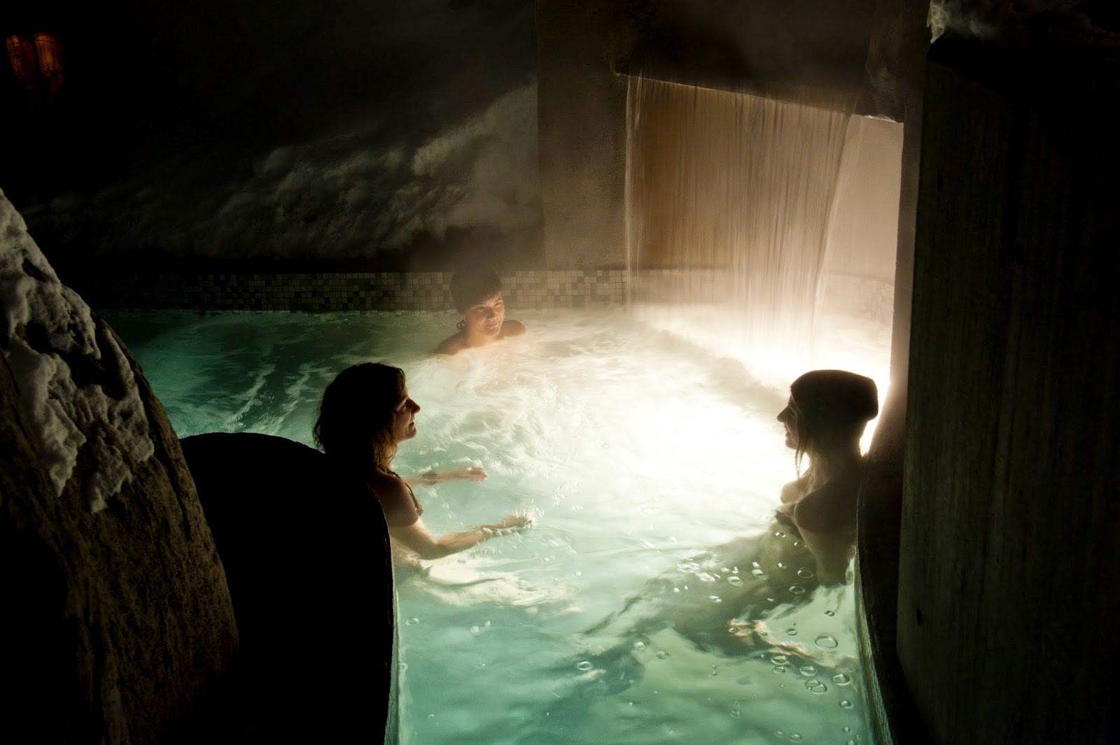 le meilleur de l 39 hiver la source bains nordiques de rawdon. Black Bedroom Furniture Sets. Home Design Ideas