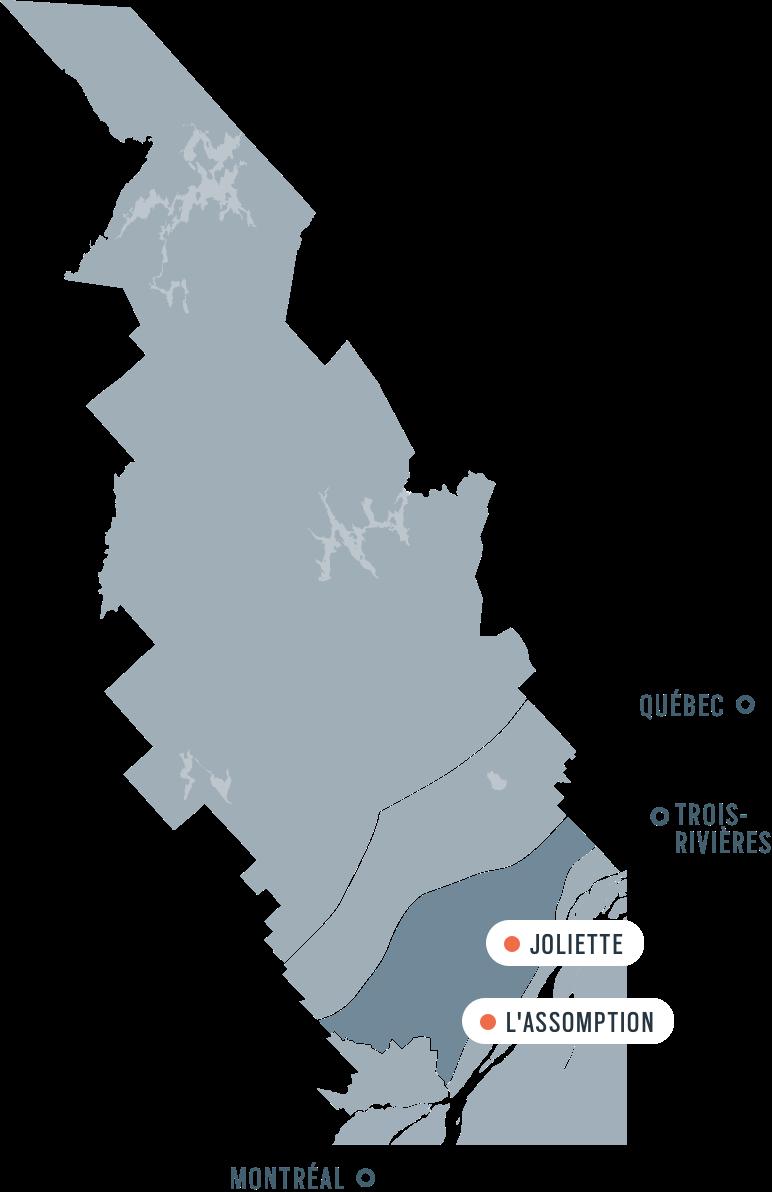 The plain Golf sugar shacks and Tourisme Lanaudire