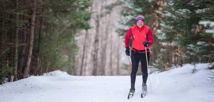 Ski de fond ski de randonn e tourisme lanaudi re - Montagne coupee ski de fond ...